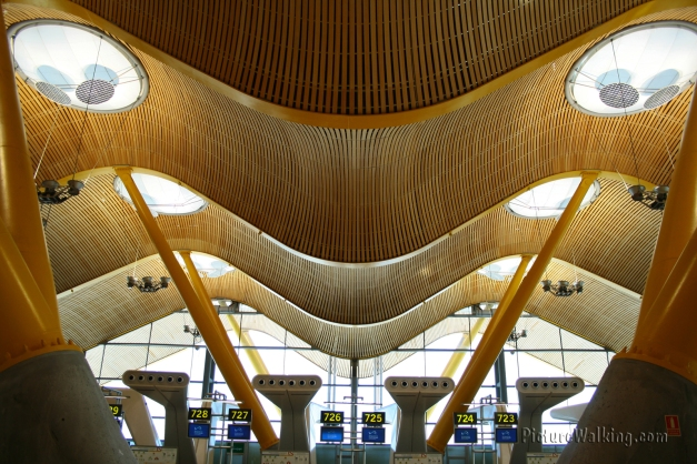 Barajas Airport Check In Counters