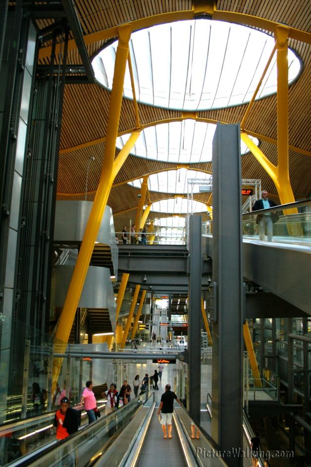 Barajas Airport Inside Terminal 4
