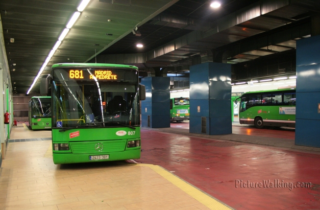 Moncloa Intercity Bus Station - Intercambiador de Buses