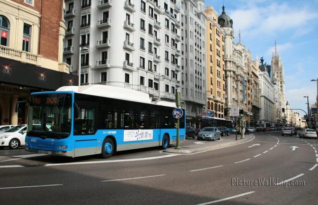 EMT - Madrid Buses Public Transport