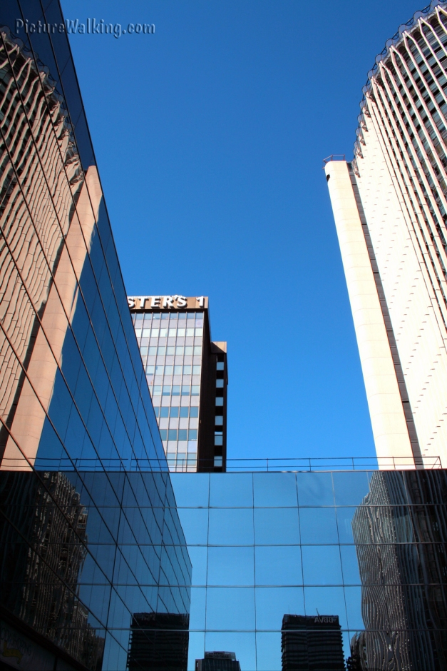 Buildings in AZCA Business Complex Madrid